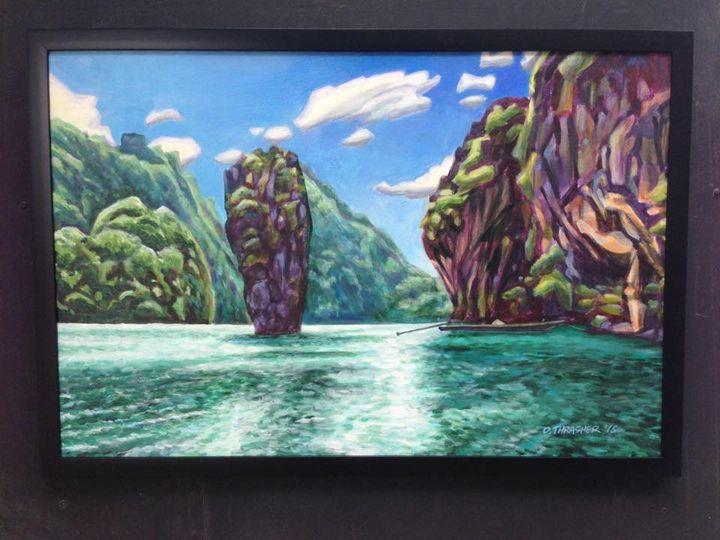 Phang N'Ga Park - Thrasher Art