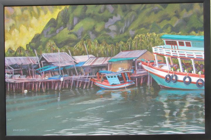 Koh Chang Boats - Thrasher Art