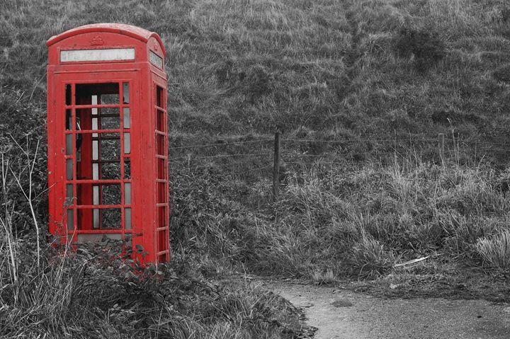 Red Phone box - Steve White Art & Design