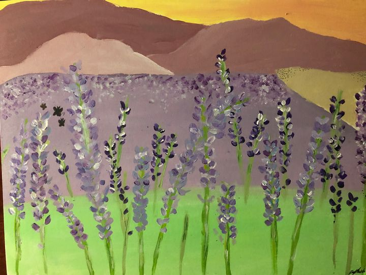 Think Lavender - RaphieArt