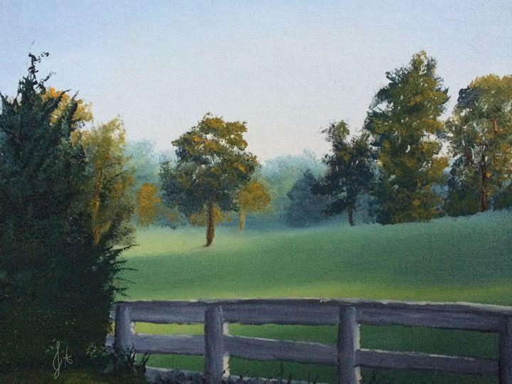 Morning Field - J.A. Arts