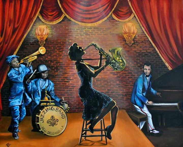 The Jazz - Jessica D Perez