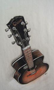 Ricky's Guitar - Jessica D Perez