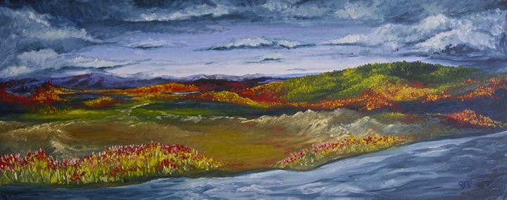 Landscape Blue, by JDP - Jessica D Perez