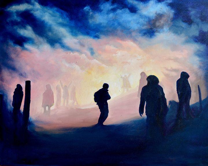 Standing Rock Light - Jessica D Perez