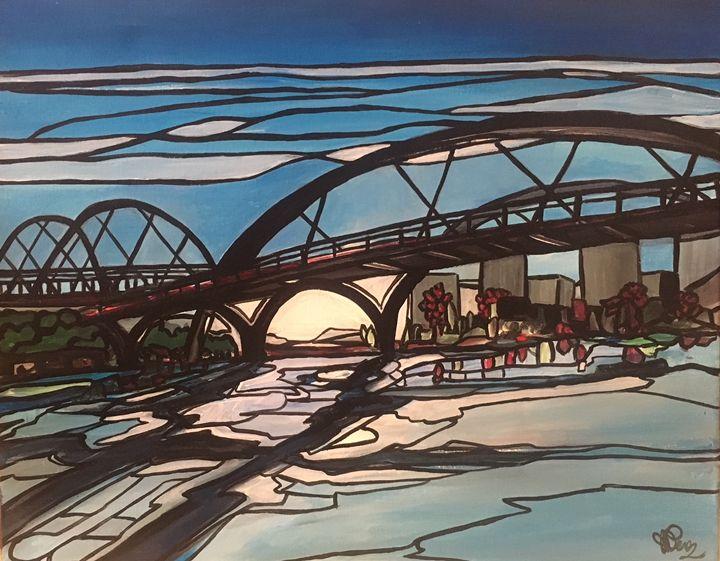 Ice Bridge - Jessica D Perez