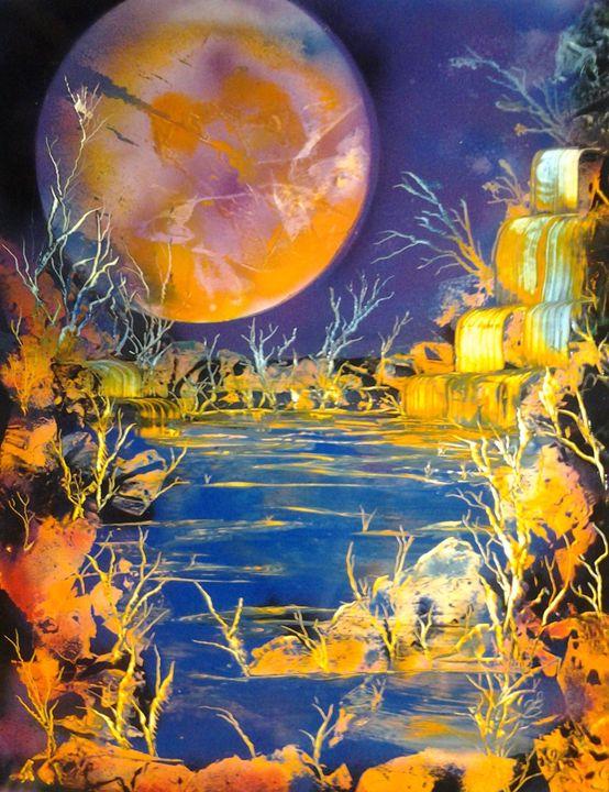 full moon - SLIGHT EDGE ART