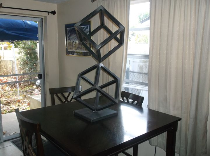 Welded Modern Abstract Sculpture - Creationswelded