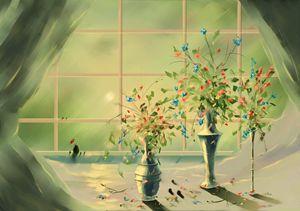 Totoro's Window #2