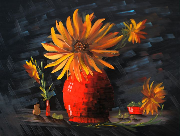 Sun in a Flower - Walperion_Paintings