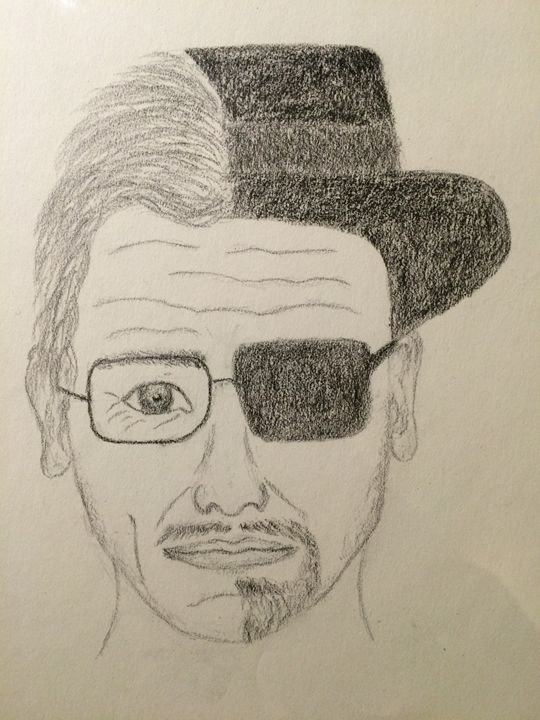 Walter White and Heisenberg - Anna's Art