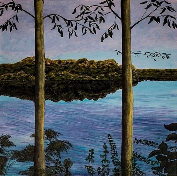 End of Summer blues - Denise Gracias Fine Art