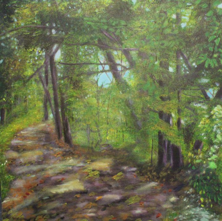 Forest Refuge - Denise Gracias Fine Art