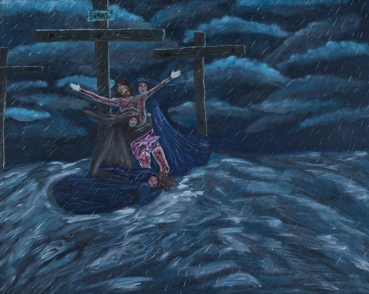 Ocean of Mercy - Denise Gracias Fine Art