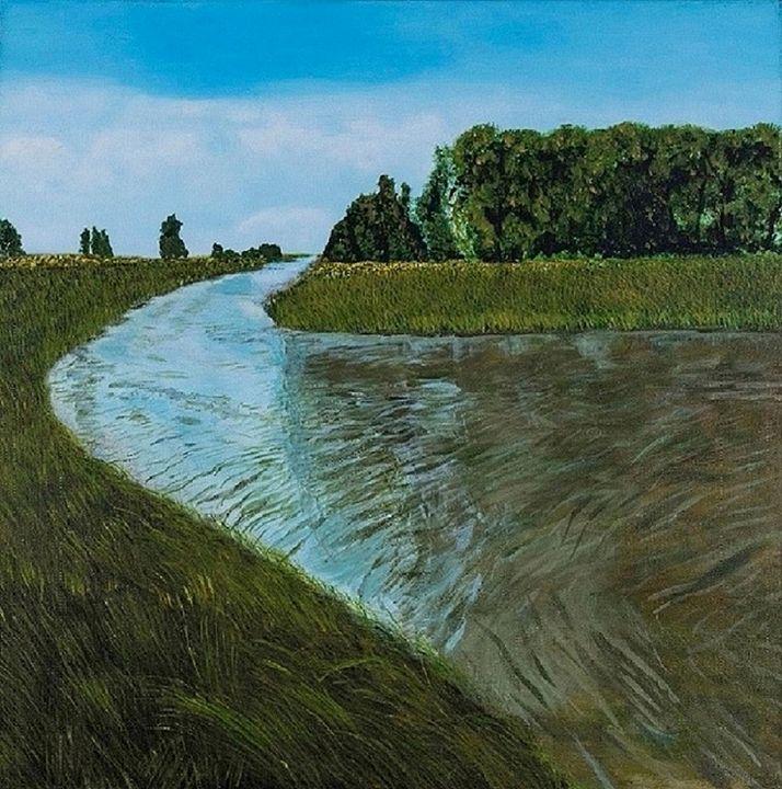 He Leads Me to Still Waters - Denise Gracias Fine Art