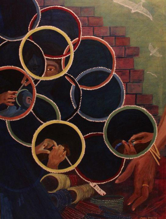 Blood Bangles - Denise Gracias Fine Art