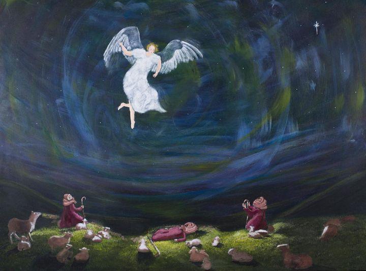 Fall On Your Knees - Denise Gracias Fine Art