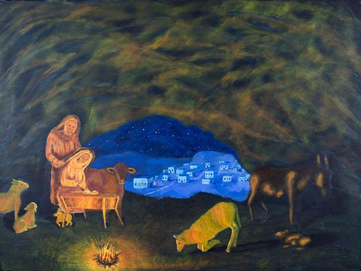 Silent Night Holy Night - Denise Gracias Fine Art