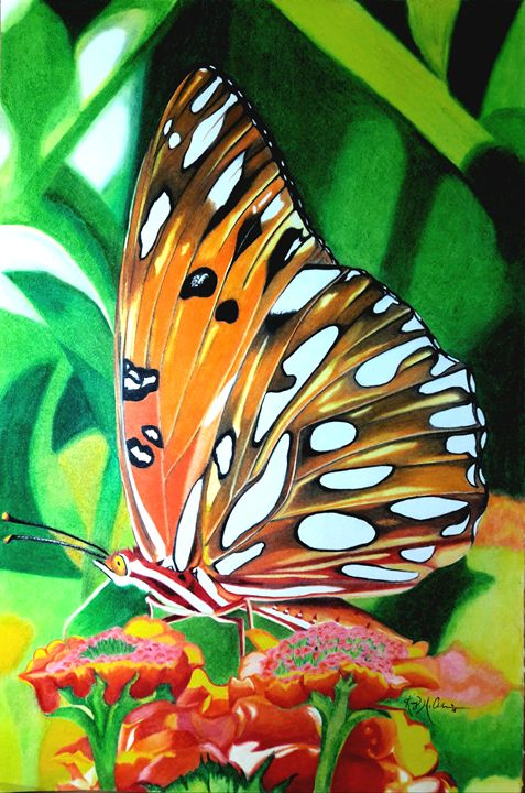 Flawless Fritillary - KFMConcepts Art Gallery