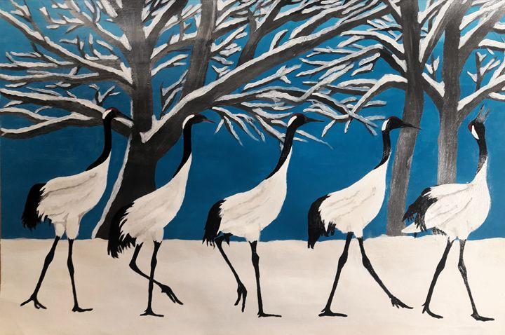 Congo Cranes - KFMConcepts Art Gallery