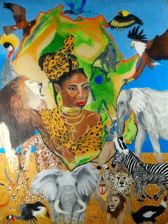 Colours of Africa II - KFMConcepts Art Gallery
