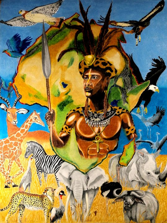 Colours of Africa III - KFMConcepts Art Gallery