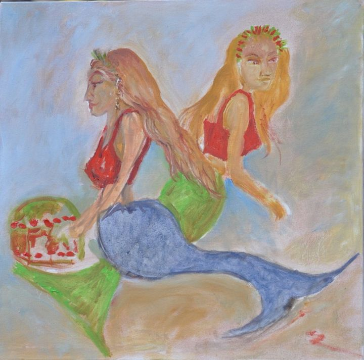 Mermaids - Fine Art by Neil Barnhart