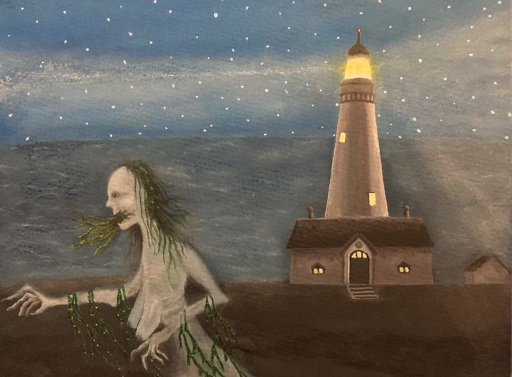 Sea Hag and the Lighthouse - David Allen
