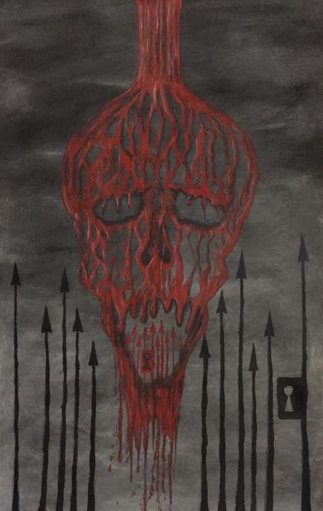 Bloody Skull - David Allen