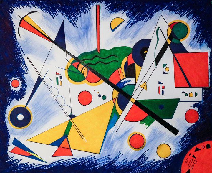 Geometrics I - Sourial Art