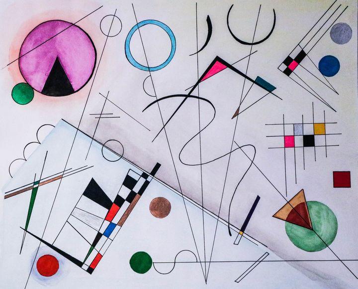 Geometric II - Sourial Art