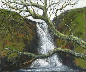 Waterfall on the Isle of Mull