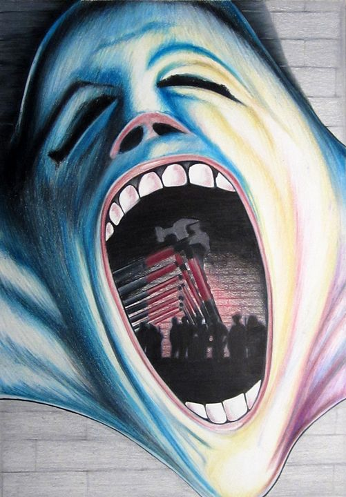 Pink floyd The Wall - andre Illustration