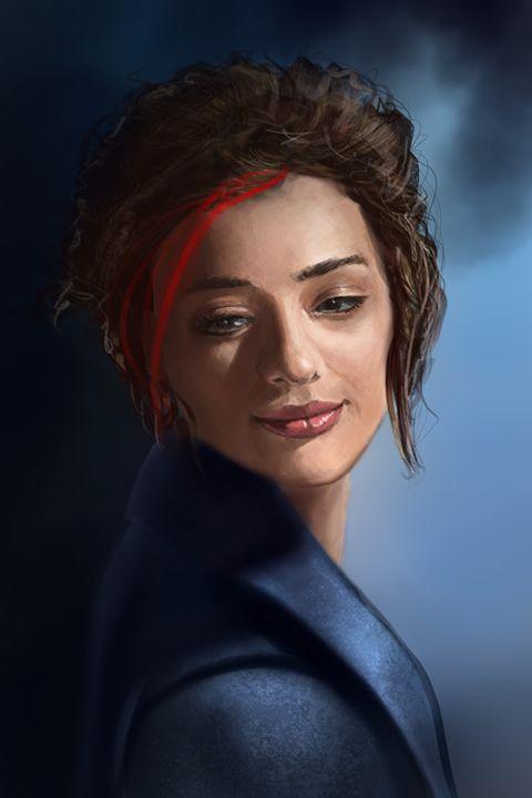 Portrait of kindness - andre Illustration