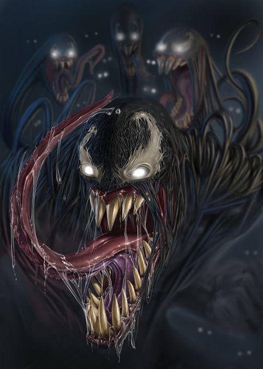 Venom - andre Illustration