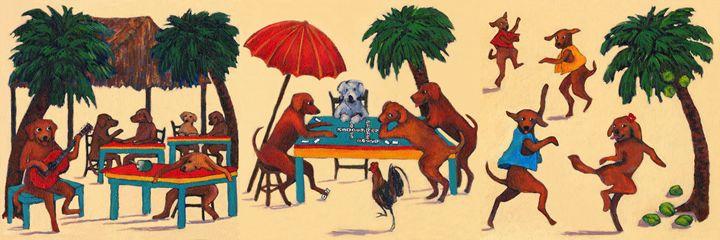 PARADISE BEACH DOG BOOGIE - Wag With Joy