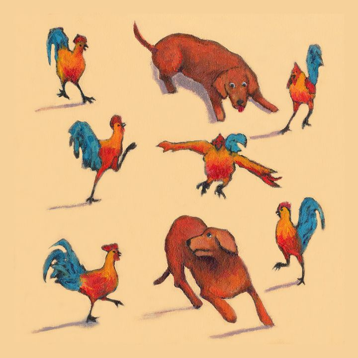 ROOSTERS RULE - Wag With Joy