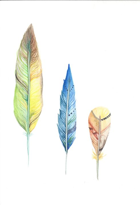 3 Feathers - ByTheWayB