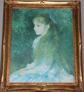 Portrait of Little Irene - Renoir