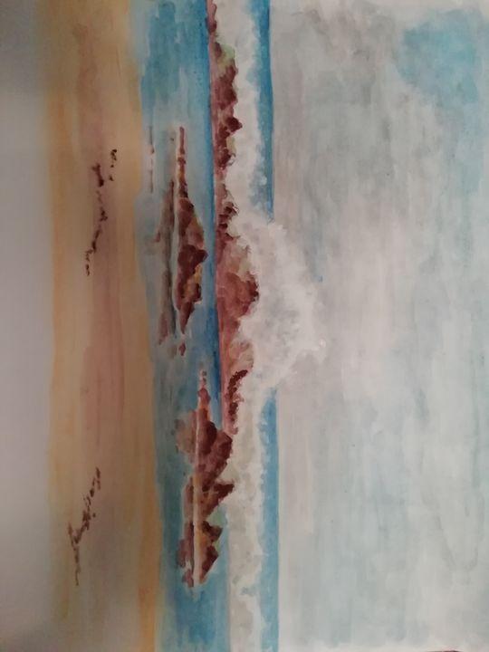 Shorebreak - Dave Taylor art works