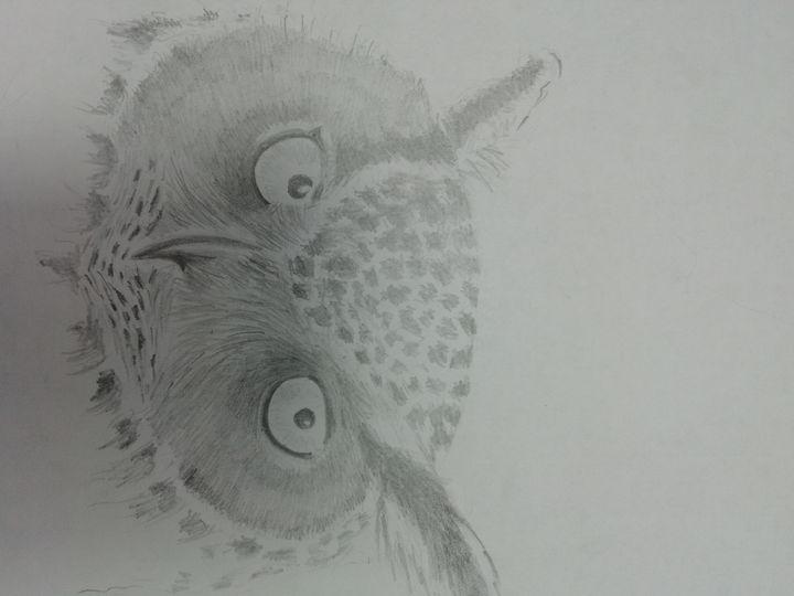 Eagle owl - Dave Taylor art works