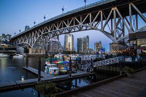 Vancouver - Granville Island Bridge