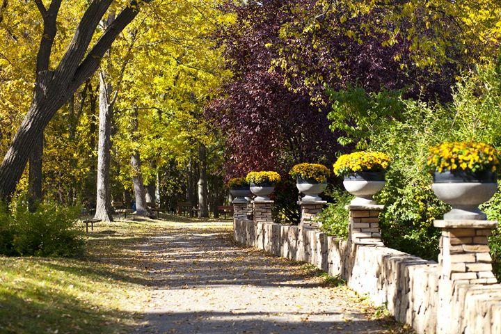 Assiniboine Park - Path - Graham Dunk Photography
