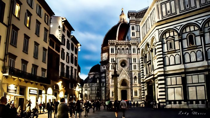 FLORENCE BY NIGHT - Lady Marie