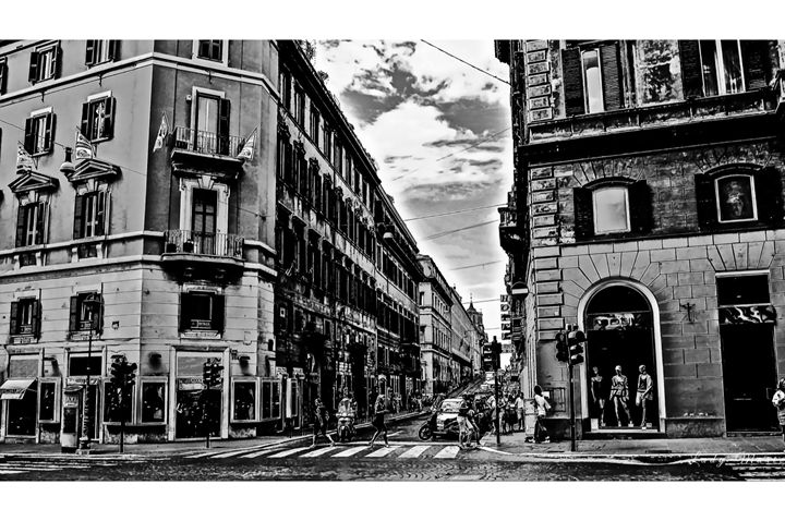 THE STREETS OF ROME - Lady Marie
