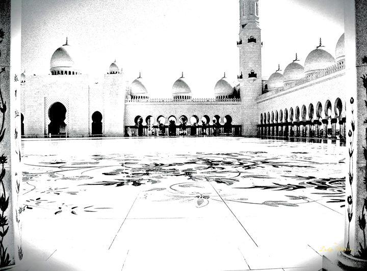 PRAYER MOSQUE ABU DHABI - Lady Marie