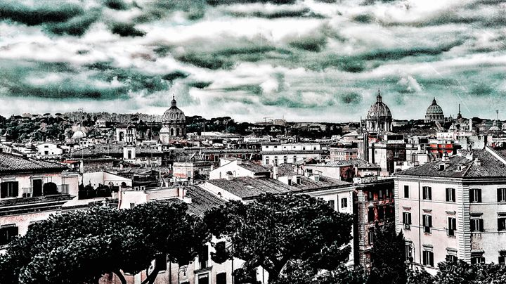 CLOUDY SKIES OVER ROME - Lady Marie