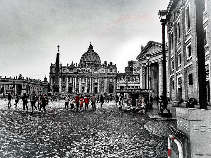 ST. PETERS BASILICA VATICAN CITY - Lady Marie
