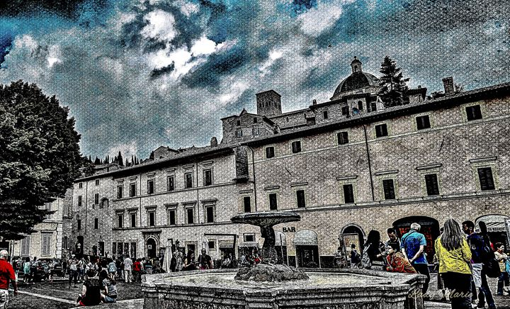 WALKING THE TOWN OF ASSISSI - Lady Marie