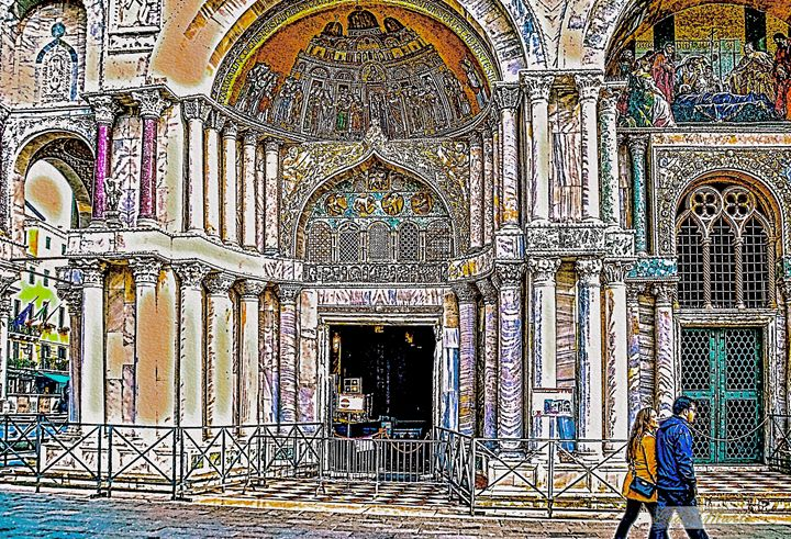ST. MARK'S CATHEDRAL - VENICE - Lady Marie
